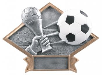 Diamond Resin Soccer Plate Available in 2 sizes