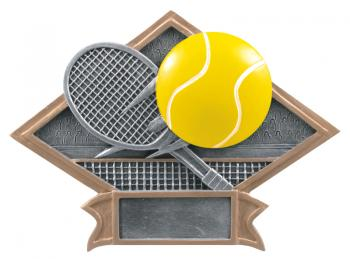 Diamond Resin Tennis Plate Available in 2 sizes
