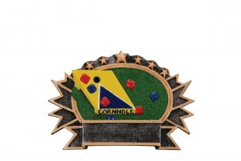 RF2627 Resin Corn Hole Award medium size
