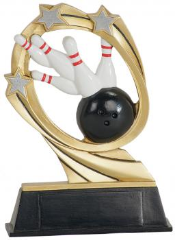 JDS RCM203 Cosmic Bowling Resin Award