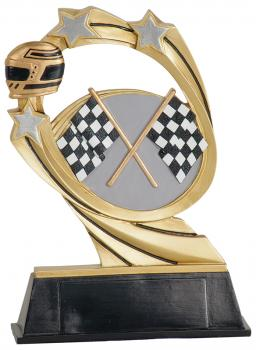 JDS RCM210 Cosmic Auto Racing Resin Award