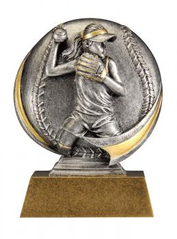 MPI MX502 Motion Xtreme Female Softball Resin Award