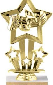 CAT F762 Music Four Star Trophy