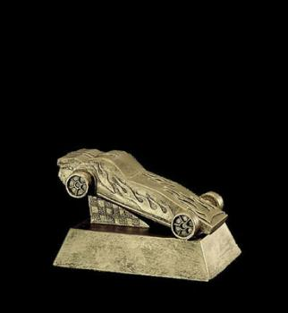Pinewood Derby Gold Resin Trophy 50259gs