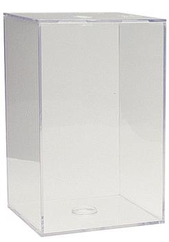 QB3 Football Clear Display Box