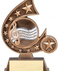 Comet Star Burst Music Resin Award