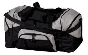 BG99 Sport Duffel Bag shown in black trimmed with grey