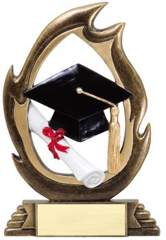 Flame Series Graduation Resin Award