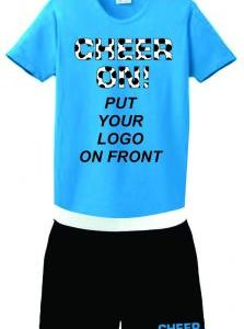 Team Cheer Package Ladies Shirt and Soffe Shorts Package Deal