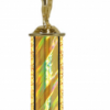 """2 Hole Marble Base 14"""" overall trophy"""