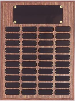 12 x 16 Multi Plate Plaque with 40 plates