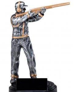 RF651 Trap Shooter Resin Statue Award