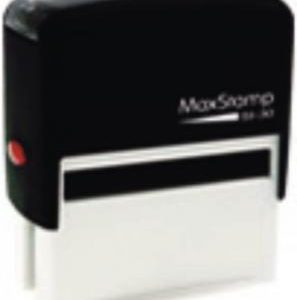 Max Self Inker Rubber Stamp 30